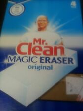 MAGIC ERASER MR. CLEAN ( 4 PER BOX ) P & G/ ERASES MARKS ON WALLS, FLOORS, ETC
