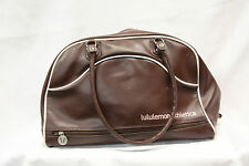Lululemon Womens Gym Bag Brown Duffel Bag Good Used Condition Medium  1675
