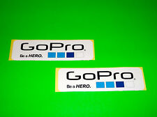 GO PRO GOPRO HERO 2 3 HD BLACK SILVER WHITE EDITION CAMERA STICKERS DECALS !^!