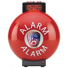 FDNY Fire Bell Digital Desk or Wall Mount Alarm Clock NEW New York Fire Dept