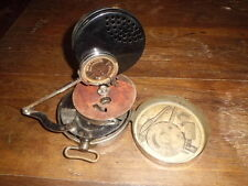Vintage Mikiphone Swiss Portable Pocket Phonograph Gramophone