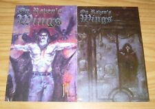 On Raven's Wings #1 & 2 VG complete series by gerard way of my chemical romance