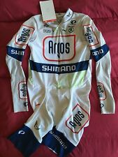 Argos Shimano Pearl Izumi Cycling Skinsuit Speed Suit Team Issue Road Race MED