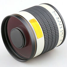 500mm f/6.3 Telephoto Mirror Lens for M4/3 Mount Camera Olympus DSLR +T2 Adapter