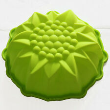 "9"" Round Flower CAKE BAKING SILICONE MOLD Cake Decorating Dessert Pan"