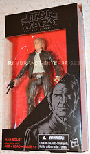 "Star Wars 6"" BLACK Series old HAN SOLO Episode 7 The Force Awakens In Hand!"