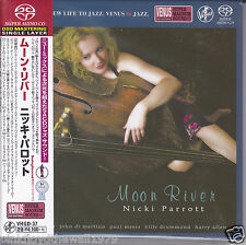 """Nicki Parrott - Moon River"" Japan Venus Records Audiophile DSD SACD CD New"