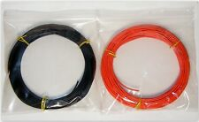 40m 16/0.2mm Equipment Wire - 20 AWG* - 20m Red + 20m Black - Stranded - 3A 1kV