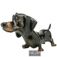 Little Paws Doogie the Dachshund Dog Figurine NEW in BOX  16652