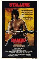 "RAMBO: FIRST BLOOD PART 2 Movie Poster [Licensed-NEW-USA] 27x40"" Theater Size"