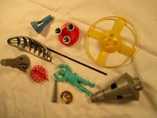 Vintage Toy Space Capsules & Other Space Junk,Parts,c.60s,GC