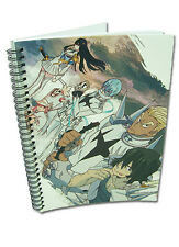 Kill la Kill 8 1/2x11 Group Spiral Notebook Note Book Anime NEW