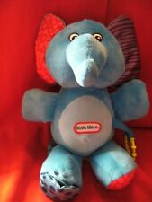 """Cute Little Tikes Rattle crinkle mirror  Elephant Plush Soft Toy Approx 12"""""""