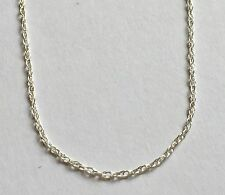 """New 16"""" Sterling Silver 925 Rope Chain Not Scrap Stamped"""