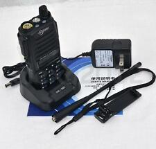 Support digital model UV100 UHF/VHF 10W Professional Two Way Walkie Talkie Radio