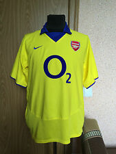 ARSENAL LONDON #ENGLAND 2003/2004 AWAY FOOTBALL SHIRT JERSEY MAGLIA #NIKE