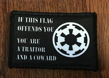 Star Wars Empire Flag Morale Patch Tactical Military Army Badge Hook Flag