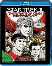 STAR TREK 2 - DER ZORN DES KHAN (DIRECTOR'S CUT)  BLU-RAY NEU