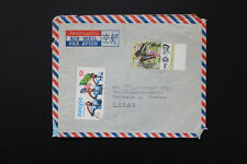 Malaysia Cover Stamps Butterfly, Jamboree stamps