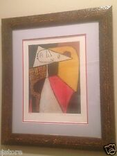 "PICASSO Original Lithograph from Collection Domain ""Seated Women"" #30 of 500"