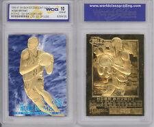 1996-97 KOBE BRYANT SKYBOX EX-2000 Credentials 23K GOLD ROOKIE BLUE *GEM MINT 10