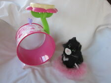 American Girl Licorice the Cat with Play Tower & Fluffy Pink Pillow