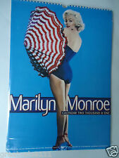 MARILYN MONROE CALENDAR 2001 ORIGINAL VINTAGE 15 YEAR OLD RARE VALUABLE  NEW GEM