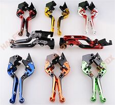 Foldable Extendable Brake clutch levers for Suzuki GSXR600/750 06-10 1000 05-06