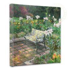 """Thomas Kinkade Wrap - Eternal Springtime  – 14"""" x 14"""" Gallery Wrapped Canvas"""
