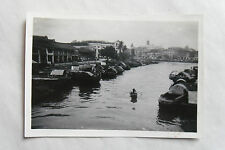 Vintage 40s/ 1947 B/W Photograph. Singapore #2. Built Environment/ Waterside