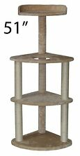 "51"" Cat Tree Tower Condo Furniture Scratch Post Kitty Pet House Play Furniture"