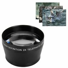 52mm 2X telephoto Lens For Canon Nikon Olympus Sony DSLR Camera 52mm Thread AUS