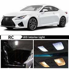 9x White LED Lights Interior Package for 2015-2016 LEXUS RC-F RC-350 F + TOOL