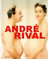 André Rival. Fotografías. Famosos y humor. Como nuevo.
