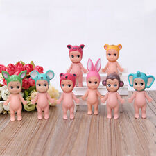 8pcs Cute Sonny Angel Action Figures Set Mini Baby Doll Collection Kids Toy Gift