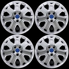 "4 Chrome 2012 2013 2014 Ford Focus 16"" Wheel Covers Full Rim Skins Hub Caps R16"