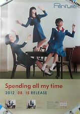 Perfume: Spending all my time (2012) Japan / JAPAN UNFOLDED PROMO POSTER