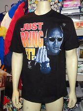 """The Rock """"Just Bring It"""" T-Shirt"""" Wrestling (Large) New"""