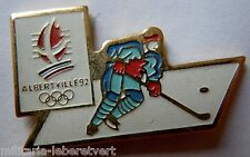 PINS JEUX OLYMPIQUES JO ALBERTVILLE 1992 Original Olympic Games HOCKEY cojo 1990