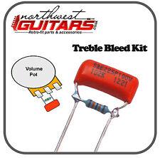 Sprague orange drop treble bleed kit (0,001 FI) pour STRAT TELE et autres guitares