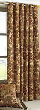 66 X 90 RING TOP EYELET DOOR CURTAIN ANTIQUE GOLD.THICK HEAVY WEIGHT CHENILLE