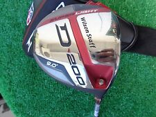 Wilson Staff D 200 9.0 Driver Stiff Elements Chrome Shaft Adjustable Head NEW RH