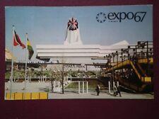 POSTCARD EXHIBITIONS EXPO 67 - GREAT BRITAIN PAVILION