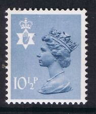 GB QEII Northern Ireland SG NI29 10 1/2p Steel-Blue 2B. Regional Machin.