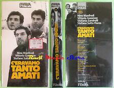 film VHS C'ERAVAMO TANTO AMATI cartonata SIGILLATA Manfredi*L'UNITA'(F75)*no dvd
