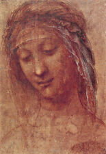 Head of a Woman 1510 Leonardo da Vinci Poster Print