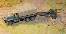 Built/Painted 1/72: US Army GMC Truck & 105mm Howitzer Europe 1943-45