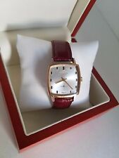 Vintage swiss made watch HISLON 17 Rubis Good  working condition Gold