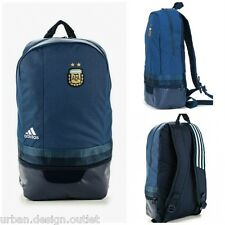 Adidas AFA Argentina Backpack Sports Football Navy Gym Kit School Bag Rucksack