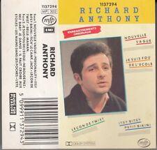 """K 7 AUDIO (TAPE)  RICHARD ANTHONY """"NOUVELLE VAGUE"""""""